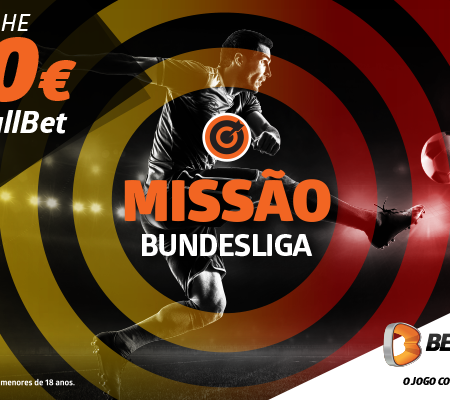 Ganha 10€ na Betano com o regresso da Bundesliga!