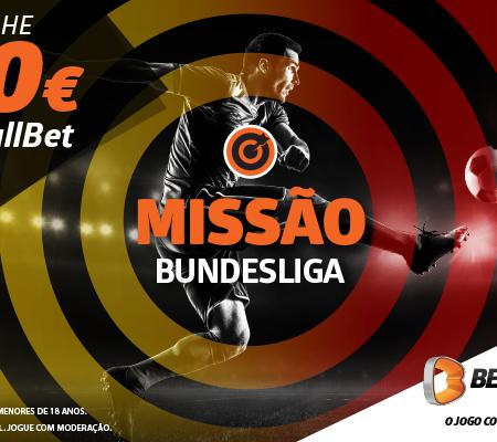 Missão Bundesliga: Ganhe 10€ em FullBet com a Betano!