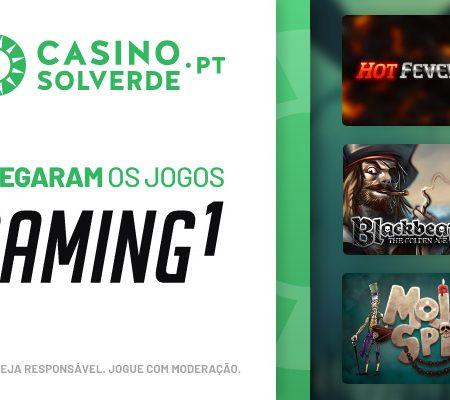 A Gaming1 Chegou ao CasinoSolverde.pt